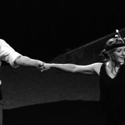 Charleston - Spectacle de la compagnie de cirque Cie Triffis