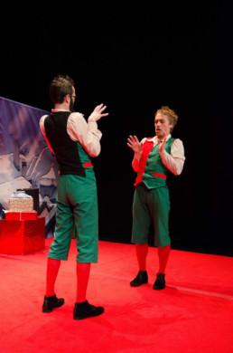 Les apprentis lutins - Spectacle de la compagnie de cirque Cie Triffis