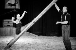 Ouii Jacqueline ! - Spectacle Compagnie de cirque Cie Triffis